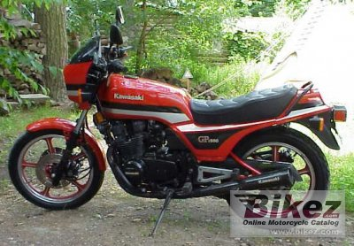 1983 Kawasaki GPZ 550 specifications and pictures