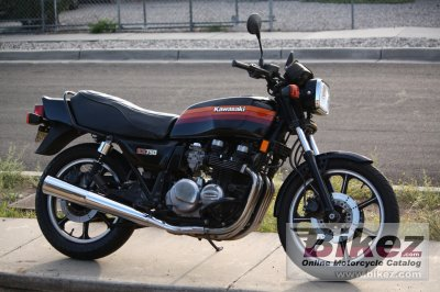 1983 Kawasaki KZ 750 L3 specifications and pictures