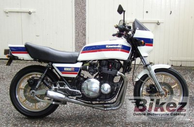 1983 Kawasaki Z 1000 R specifications and pictures