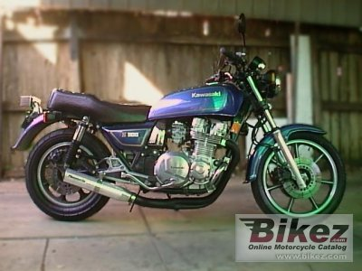 1983 Kawasaki Z 1100 ST specifications and pictures