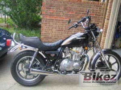 1983 Kawasaki Z 440 LTD Belt Drive specifications and pictures