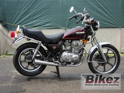 1983 kawasaki z 440 ltd specifications and pictures. Black Bedroom Furniture Sets. Home Design Ideas