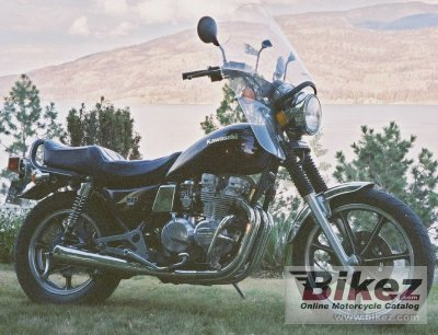 1983 Kawasaki Z 550 LTD specifications and pictures