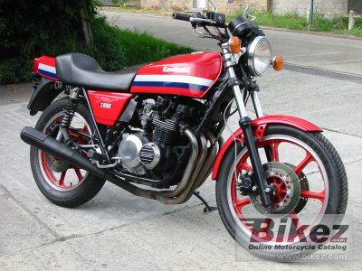 1983 Kawasaki Z 550 Sport specifications and pictures