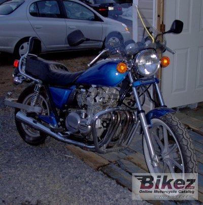 1983 Kawasaki Z 650 F