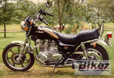 1983 Kawasaki Z 750 LTD Belt Drive specifications and pictures
