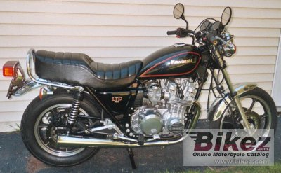 1983 Kawasaki Z 750 LTD specifications and pictures