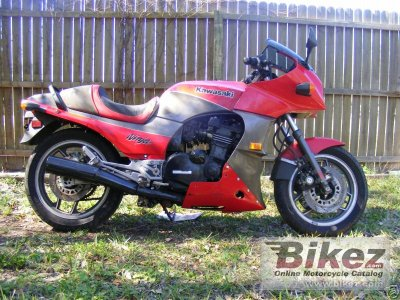 1984 Kawasaki GPZ 1100 (reduced effect)