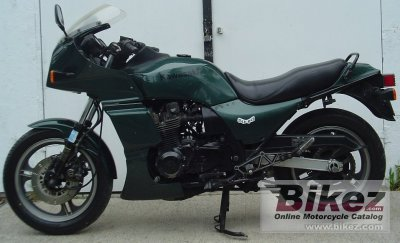 1984 kawasaki gpz 1100 specifications and pictures