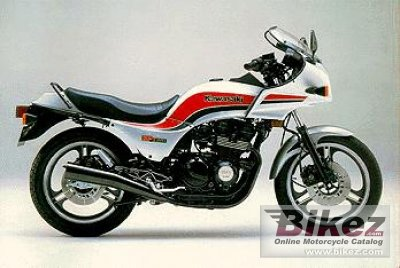 1984 Kawasaki GPZ 550 specifications and pictures