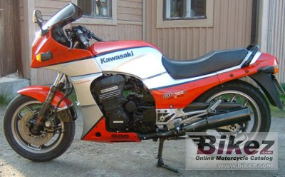 1984 Kawasaki GPZ 900 R (reduced effect)