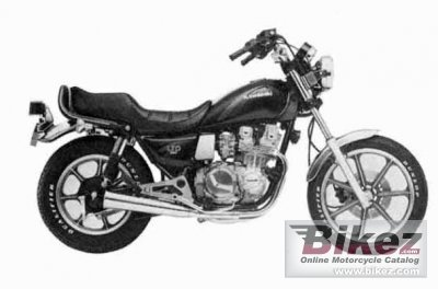 1984 Kawasaki KZ 550 LTD specifications and pictures