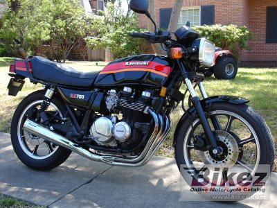 1984 Kawasaki KZ 700-A1 specifications and pictures