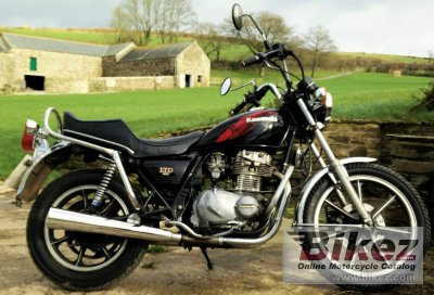 1984 Kawasaki Z 440 LTD Belt Drive specifications and pictures