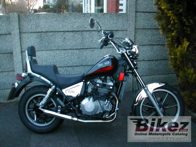 1984 Kawasaki Z 450 LTD (reduced effect)