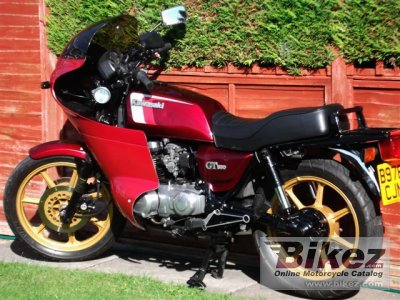 1984 Kawasaki Z 550 GT specifications and pictures
