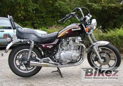 1984 Kawasaki Z 750 LTD Belt Drive specifications and pictures