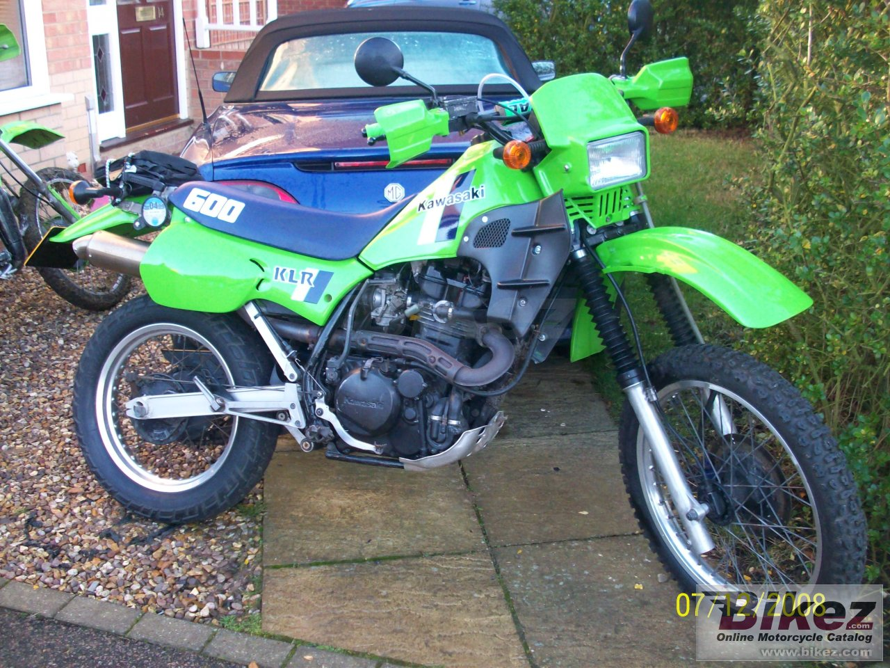 Big  klr 600 picture and wallpaper from Bikez.com