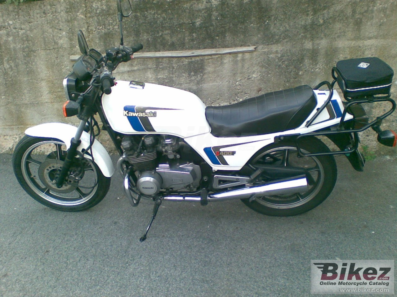 Big  z 400 f (reduced effect) picture and wallpaper from Bikez.com