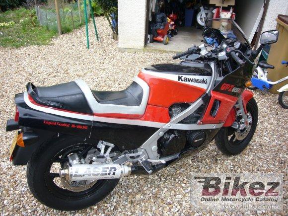 1985 Kawasaki GPZ 600 R