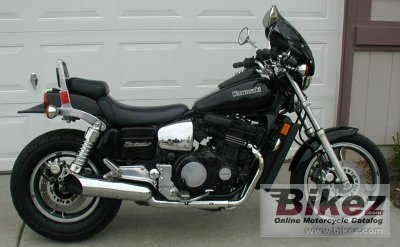 1985 Kawasaki GPZ 1100 specifications and pictures