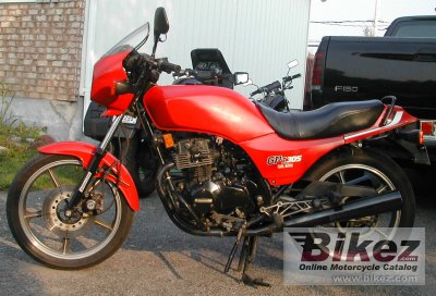 1985 kawasaki gpz 305 belt drive specifications and pictures