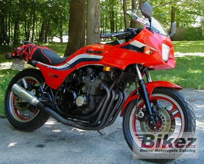 1985 Kawasaki GPZ 750 specifications and pictures