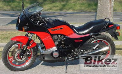 1985 Kawasaki Z 750 Turbo specifications and pictures
