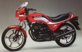 1986 Kawasaki GPZ 305 Belt Drive photo