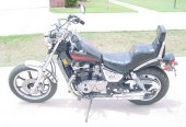 1986 Kawasaki Z 450 LTD (reduced effect)