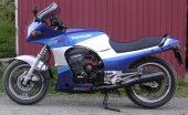 1986 Kawasaki GPZ 900 R (reduced effect)