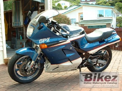 1986 Kawasaki GPZ 1000 RX specifications and pictures