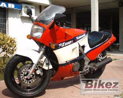 1986 Kawasaki GPZ 600 R specifications and pictures