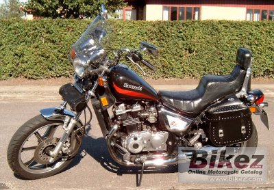 1986 Kawasaki Z 450 LTD specifications and pictures