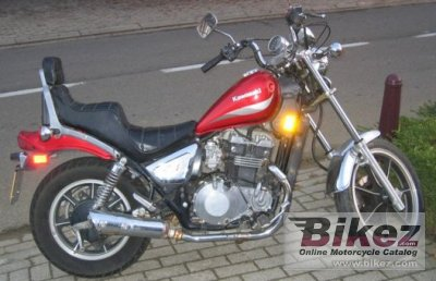 1987 Kawasaki Z 450 LTD photo
