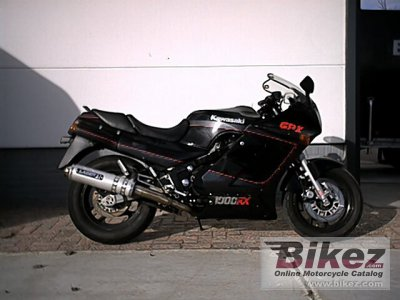 1987 Kawasaki GPZ 1000 RX specifications and pictures