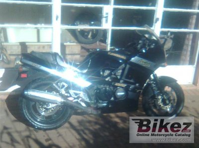 1987 Kawasaki GPZ 500 S (reduced effect)
