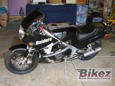 1987 Kawasaki GPZ 600 R (reduced effect)