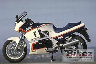 1987 Kawasaki GPZ 600 R