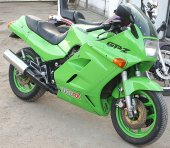 1988 Kawasaki GPZ 1000 RX (reduced effect)