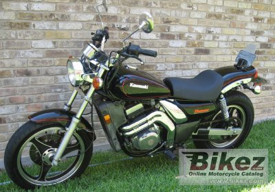 1988 Kawasaki EL 250 specifications and pictures