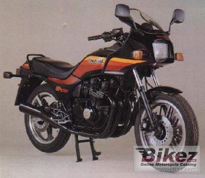 1988 Kawasaki GPZ 550
