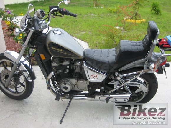 1989 Kawasaki Z 450 LTD photo