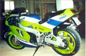 1989 Kawasaki ZXR 750 (reduced effect) photo