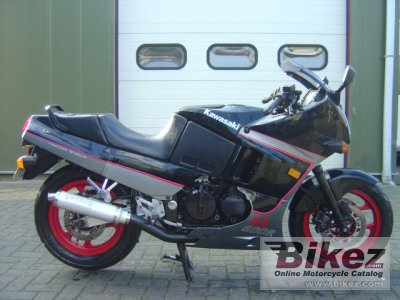 1989 Kawasaki GPX 600 R specifications and pictures
