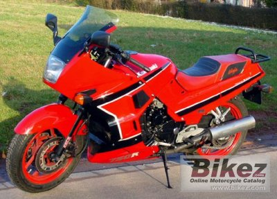 1989 Kawasaki Gpx 750 R Specifications And Pictures