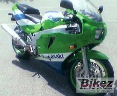 1989 Kawasaki Zxr 750 Specifications And Pictures