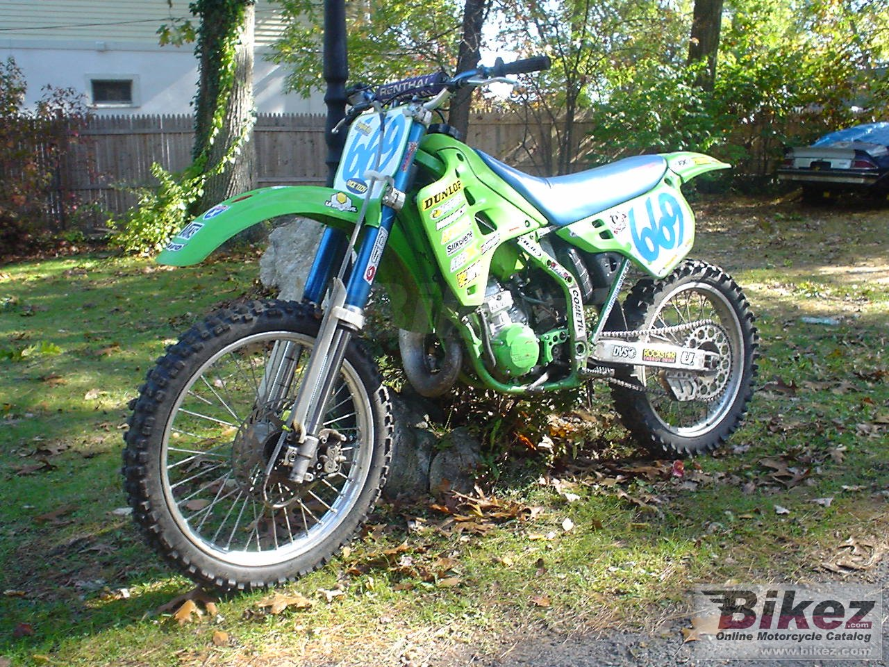 Big  kx 125 picture and wallpaper from Bikez.com