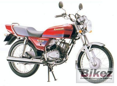 1990 Kawasaki Gto 125 Specifications And Pictures
