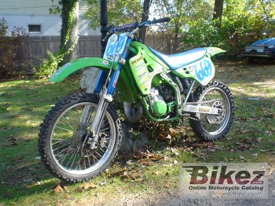 1990 Kawasaki Kx 125 Specifications And Pictures